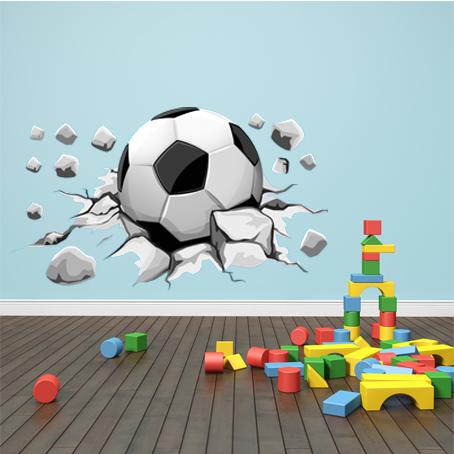 Autocolantes decorativos   Autocolante decorativo Bola de futebol 847d79b07325a