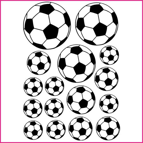 Autocolantes decorativos   Kit Autocolante decorativo 16 bolas de ... 97ae5758d7e9a