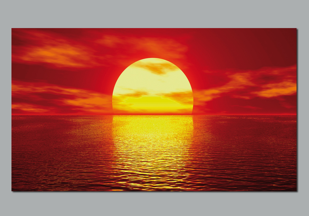 Autocolantes decorativos poster autocolante sunset - Posters decorativos ...